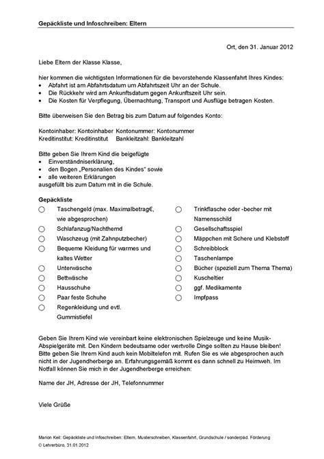 Lebenslauf Englisch Referendariat Kostenvoranschlag Und Buchung 67743 Schulblog Elternbrief Einverstndniserklrung
