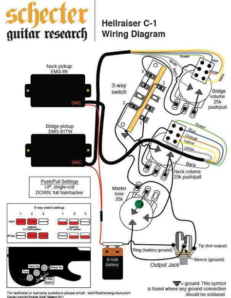 28 Schecter Guitar Wiring Diagrams 31 Wiring Diagram Images