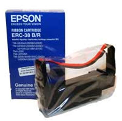 Ribbon Cartridge Erc 38 epson m188d erc 38 black printer ribbon