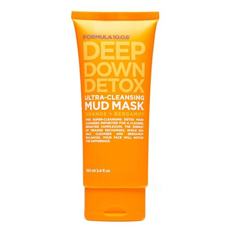 Formula 10 0 6 Detox Mud Mask Recension by Buy Ultra Cleansing Mud Mask 100 Ml By Formula 10 0 6