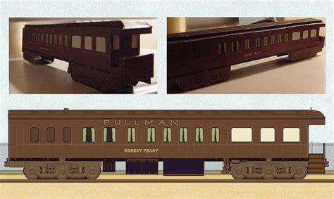 Model Railroad Car Card Template by Pullman Railroad Car Paper Model Jpg
