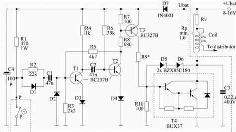 Saklar Impuls pengapian mobil sirkuit elektronik s s e