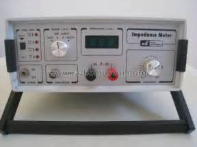 inductance meter nuova elettronica impedance meter lx 1192 equipment nuova elettronica