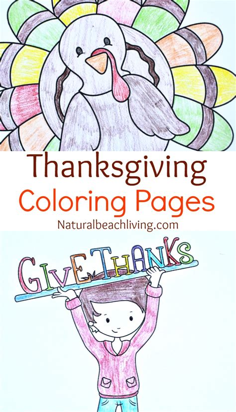 Thanksgiving Craft Ideas Planting Tree Coloring Page - 5 filled thankful thanksgiving printables for