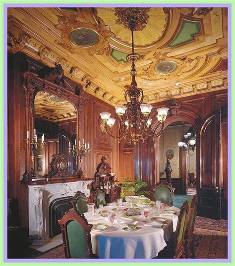 reference  dining room victorian style