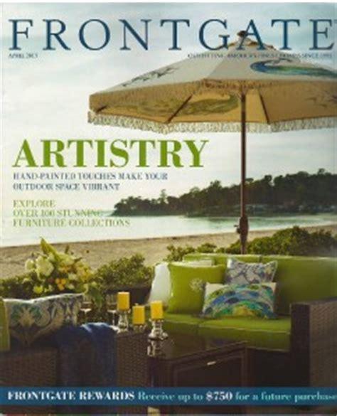 frontgate catalog april 2013 home furniture decor