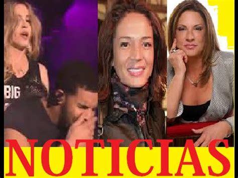 artistas mexicanos noticias y chismes de famosos cachan a conductora con su novia noticias esc 193 ndalos de