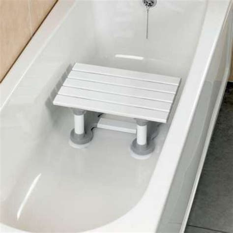Bathroom Shower Seats Savanah Slatted Bath Shower Seat Bathing Step Stool Secure Mobility Aid Ebay