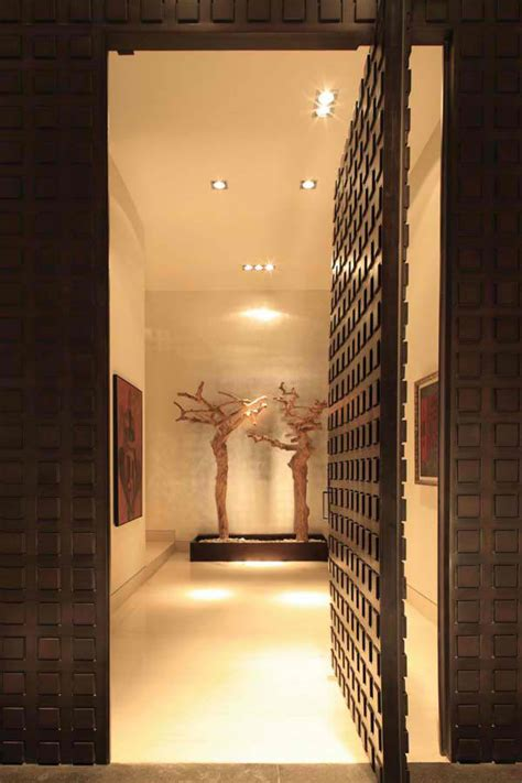 Interior Design Door Entrance by Luxury Mexico House By Glr Arquitectos Modern House Designs