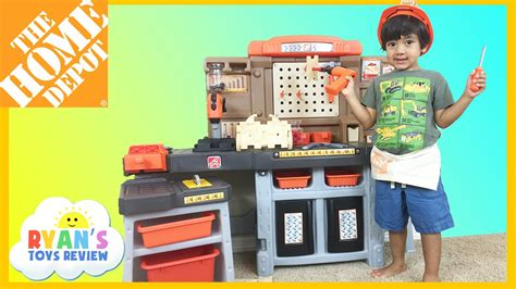 home depot work bench for kids the home depot pro play workshop and utility bench step 2
