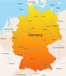 Germany On The Map by Opinions On Germany