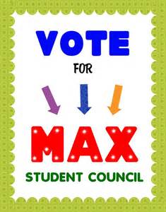 create a vote for student council poster election