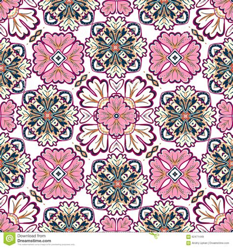 a pattern in spanish spanish traditional ornament mediterranean seamless