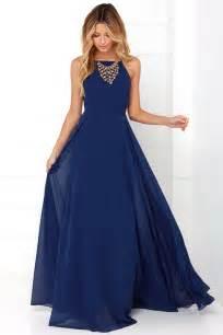 navy blue dress beautiful navy blue dress maxi dress backless maxi dress 64 00