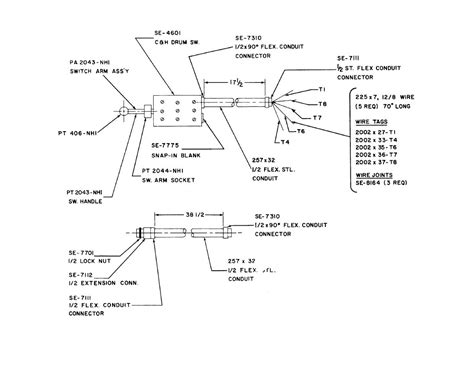 manual swing cl part list tm 9 3416 235 14 p0063