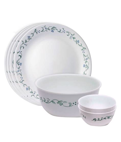Corelle Dishes Country Cottage by Corelle Country Cottage 9 Pcs Gift Dinner Set Buy