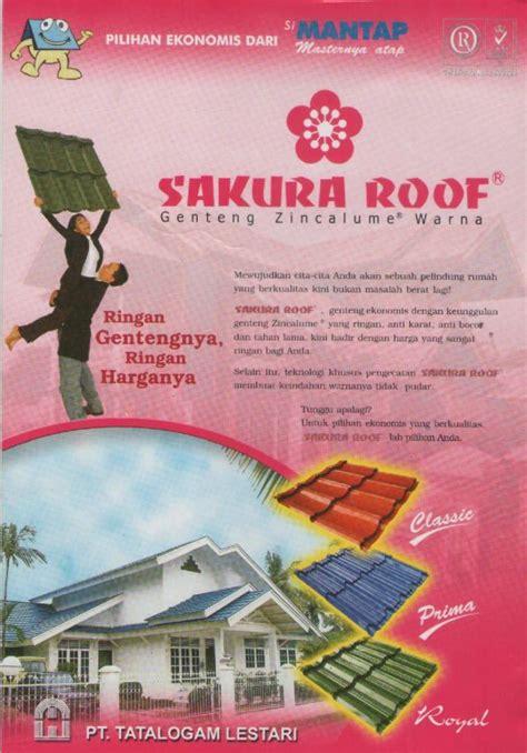 Multiroof Lapis Pasir genteng metal sky roof lapis pasir berpasir murah