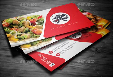 catering business card templates psd 45 restaurant business cards templates psd designs