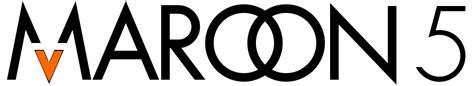 maroon logo file maroon 5 logo svg wikipedia