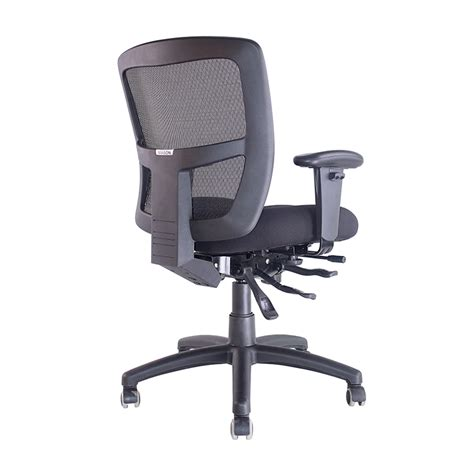 fast office furniture works promesh high back chair 165kg user weight rating fast office furniture