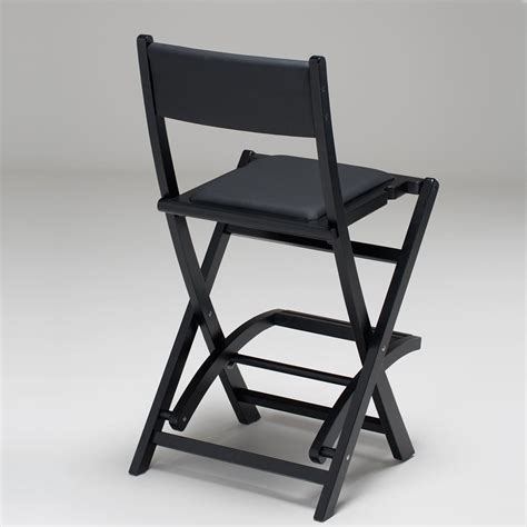 Foldable Makeup Chair by Back View S104 Cantoni Folding Padded Makeup Chair Cantoni