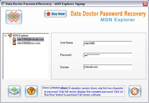 Msn Finder Msn Password Finder V3 0 1 5 Free