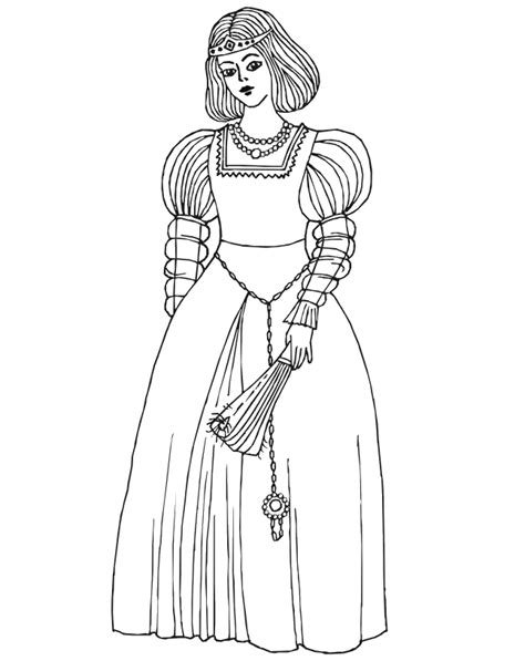 princess gown coloring pages princess colouring new calendar template site