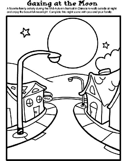 moon cake coloring page mid autumn festival coloring page crayola com