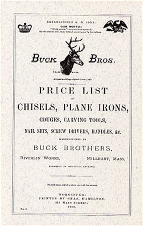 the buck catalog buck brothers 1890 catalog at the best things