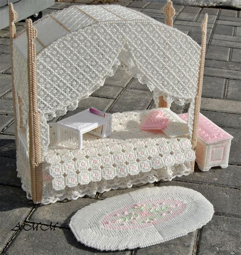 Barbie Doll Bedroom Furniture Set Pink Lace Doll Bedroom Furniture