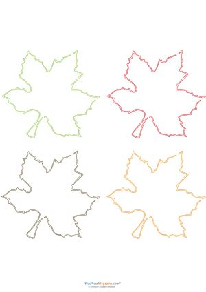 printable maple leaves party decoration printables canada archives page 2 of