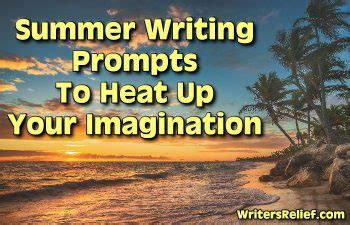 summer blog writing away with blog summer writing prompts to heat up your imagination