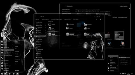video game themes for windows 10 ghostly greyscale for windows 10 creators update by