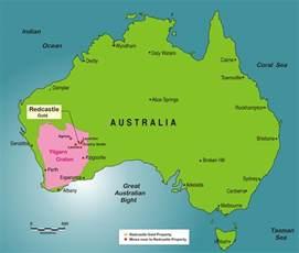 In Australia Superior Mining International Corporation Redcastle Property