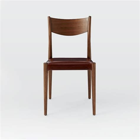 West Elm Dining Chair by Tate Leather Dining Chair West Elm
