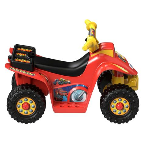 power wheels power wheels 174 dtb78 nickelodeon blaze and the