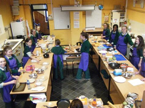 1st year home economics class enter the quot take away my way