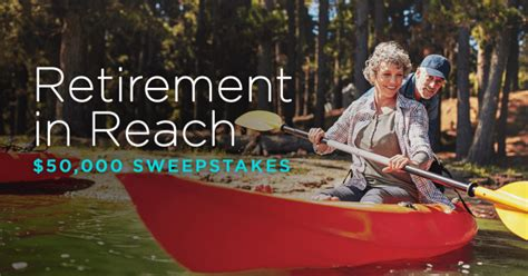 Aarp Sweepstakes 2017 - enter the aarp retirement in reach 50 000 sweepstakes and