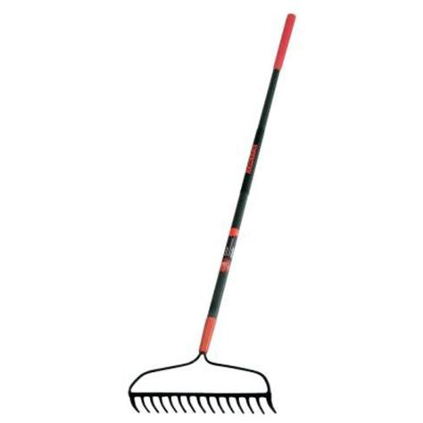 Landscape Rake At Home Depot Razor Back 15 Tine Forged Bow Rake 2853900 The Home Depot