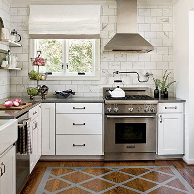 kitchen no cabinets painted wood floors transitional kitchen southern living
