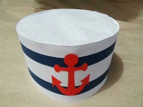 How To Make A Sailor Hat Out Of Paper - 17 best images about theme sailor on tissue