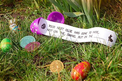 easter hunt ideas free printable outdoor easter egg hunt clues party