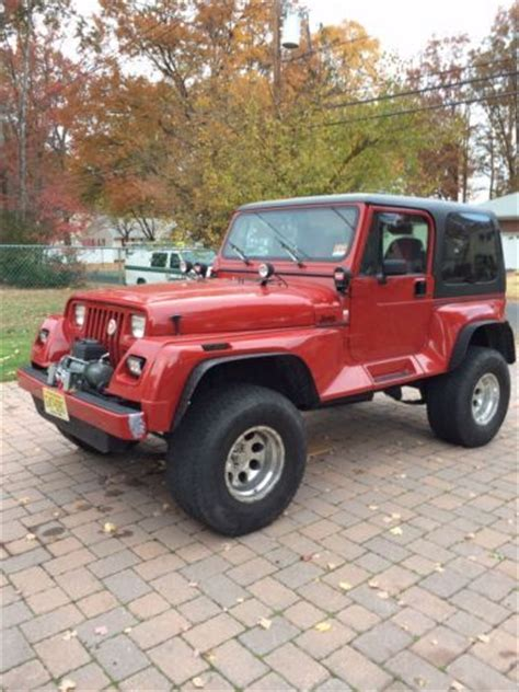 1991 Jeep Wrangler Renegade Buy Used 1991 Jeep Wrangler Renegade Sport Utility 2 Door