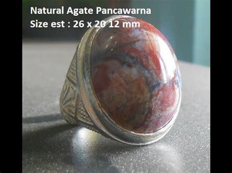 Batu Pancawarna Garut Agate batu akik pancawarna garut agate