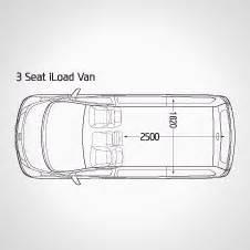 Hyundai Iload Cargo Dimensions Hyundai Iload Imax Interior Hyundai New Zealand