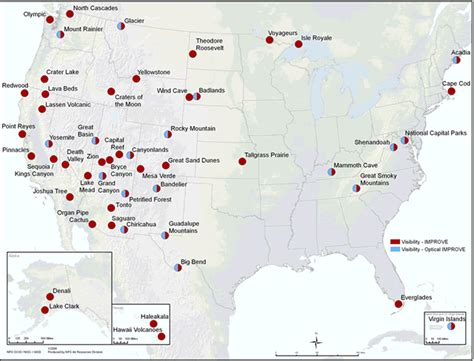 national monuments map i ve visited 51 of the 117 national monuments in america