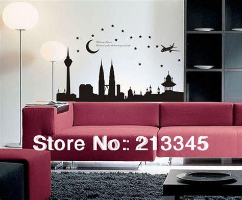 Wall Stickers For Living Room Malaysia Saturday Mall Malaysia Petronas Towers Modern