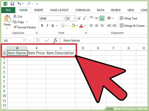 Csv Format How To | how to create a csv file 12 steps with pictures wikihow