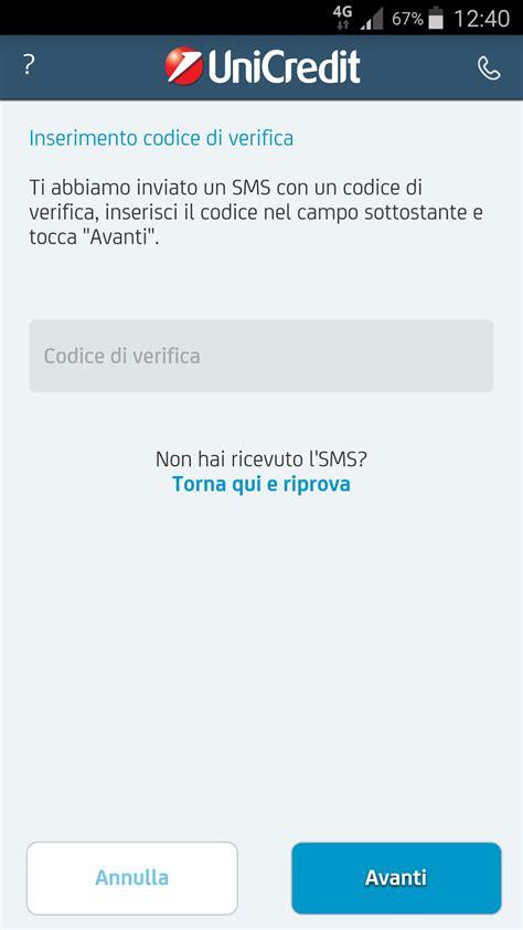 unicredit mobile banking riattivazione dell app mobile banking unicredit