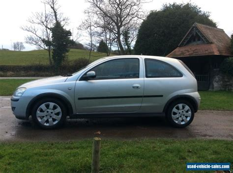 3 Door Corsa For Sale by 2005 Vauxhall Corsa Sxi 1 2 Sxi Twinport For Sale In The